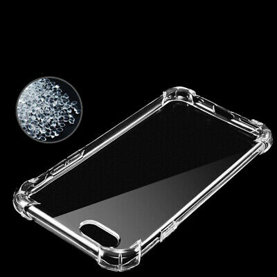Clear Ultra Slim Transparent Shockproof TPU Bumper Case Abdeckung für iPhone