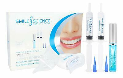Kit de Blanqueamiento Dental Dientes Gel LED Luz Plasma Láser Pro Smile Science