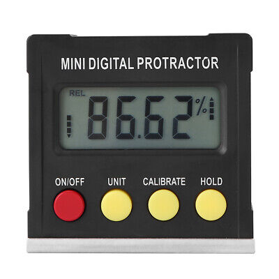 Mini Digital Winkelmesser Gauge Finder Bevel Box Neigungsmesser Magnetfuß