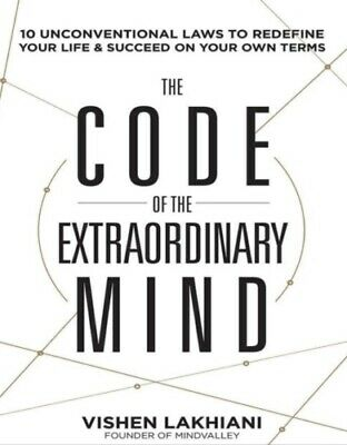 The Code of the Extraordinary Mind by Vishen Lakhiani-MP3 audio audiobook format