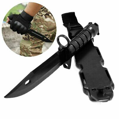 Tactical Knife Model Rubber Dagger Military Cosplay Toy Sword Training Prop