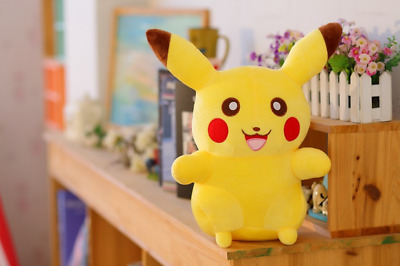 "8""Pokemon  Pikachu Plush Stuffed Animal Cuddly XMAS Soft Toy Doll for Kids& Gift"