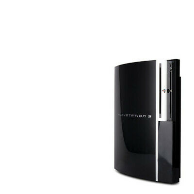 Playstation 3 - PS3 Konsole Fat 80 Gb Modell Nr. Cechl03 in Schwarz - ohne Alles