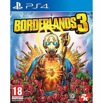 Borderlands 3 + Gold Weapon Skins Pack - PS4 Playstation 4 - NEU OVP - Uncut