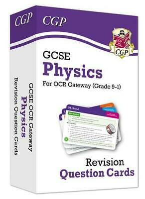 New 9-1 GCSE Physics OCR Gateway Revision Question Cards by CGP Books, CGP Bo...