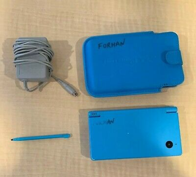 Nintendo DSi Light Blue Handheld Console Game