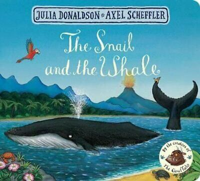 The Snail and the Whale by Julia Donaldson 9781509830442 | Brand New
