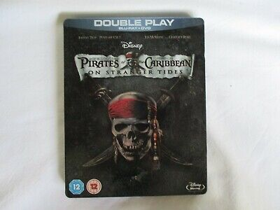 Pirates Of The Caribbean - On Stranger Tides (Blu Ray + DVD STEELBOOK) ACTION
