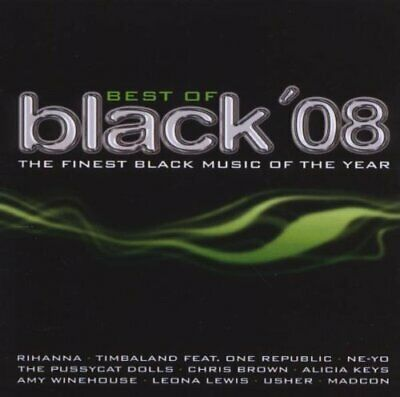 Best of Black '08-The finest Black Music of the Year [2 CD] Rihanna, Pussycat...