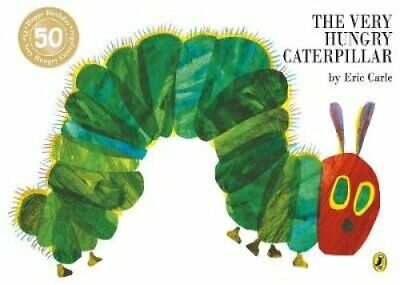 The Very Hungry Caterpillar by Eric Carle 9780140569322 | Brand New