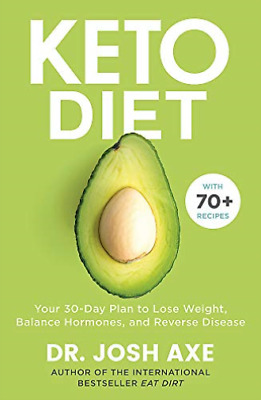 Dr Josh Axe-Keto Diet BOOKH NEW
