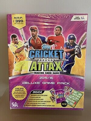 Cricket Attax Deluxe Game Pack 2015/2016 IPL - Very Rare