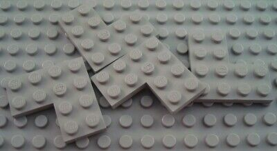 LEGO Lot of 4 Light Gray 4x4 Flat L Shaped Building Plate Pieces