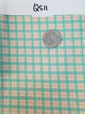 Aunt Grace Ties One On Judie Rothermel for Marcus Brothers BTY Navy Plaid