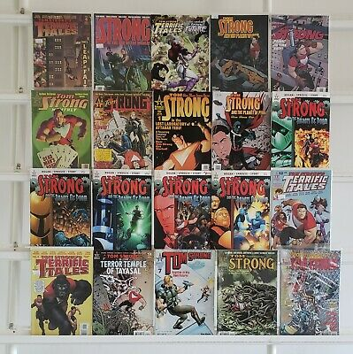 Tom Strong 20 America's Best Comic Book Lot Comics Collection Set Run Box 1