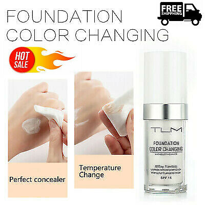Magic Flawless Color Changing Foundation TLM Make~up Change Skin Tone Concealer