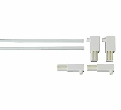 Extra Tall Pressure Extension Gate Pack - White