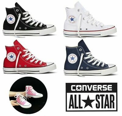 Converse Kids Unisex All Star High Tops Classic Canvas Trainers Walking Shoes