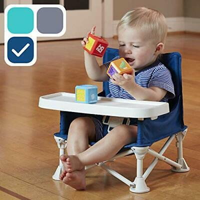 Omniboost Travel Booster Seat with Tray for Baby | Folding Portable High Chair