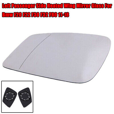 Left Side Wing Mirror Glass Wide Angle Heated For BMW F20 F30 F34 F36 F80 //B030
