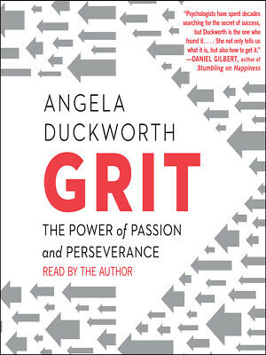 Grit: The Power of Passion and Perseverance by Angela Duckworth-MP3 audiobook