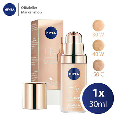 NIVEA Professional Hyaluronsäure Make-Up Foundation 30ml - 3-fach Anti Aging