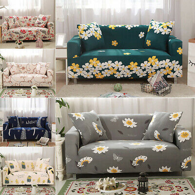 Stretch Sofa Cover Couch Lounge Recliner Chair Slipcover Protector 1 2 3 Seaters