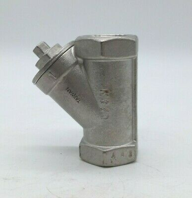 CF8M 600WOG Y-Pattern Stainless Steel Check Valve