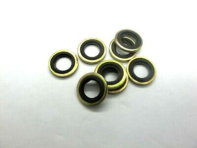 """3//8/"""" BSP Dowty Seals Pack of 5  Hydraulic Seals Thread Seal Bonded Washers"""