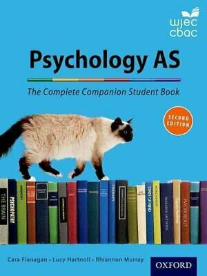 The Complete Companions for WJEC Year 1 and AS Psychology Stude... 9780198359173