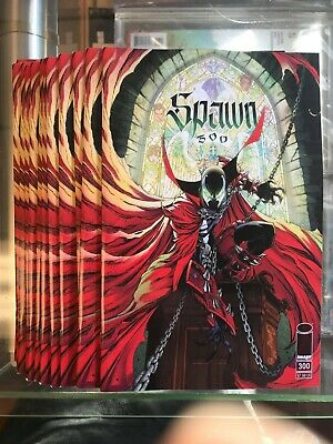 Spawn #300 Cover G - J. Scott Campbell JSC Variant (Image, 2019) NM+
