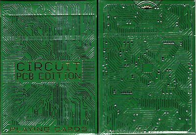 Circuit PCB Playing Cards Poker Size Deck WJPC Custom Limited Edition New Sealed