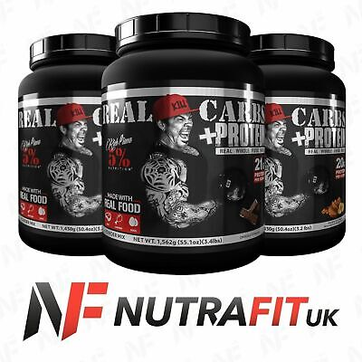 RICH PIANA 5% NUTRITION REAL CARBS + PROTEIN whole food meal replacement