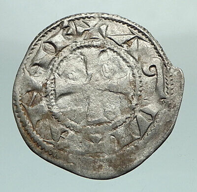 1168-1185 ANGLO-GAELIC King Richard the Lionheart CRUSADES Silver Coin i80420