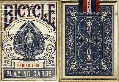 1900 Series Bicycle Playing Cards Poker Size Deck USPCC ellusionist Custom New