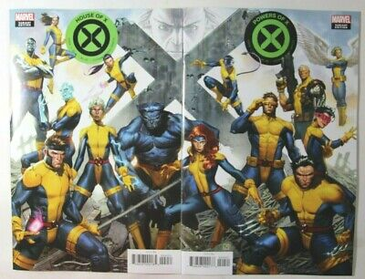 House Of X #4 & Powers Of X #4 - Molina Connecting Variants - 2019 Marvel Comics