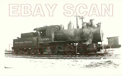 8G213 RP 1929/50s NORTHERN PACIFIC RAILROAD 0-6-0 LOCO #1098 TACOMA WA