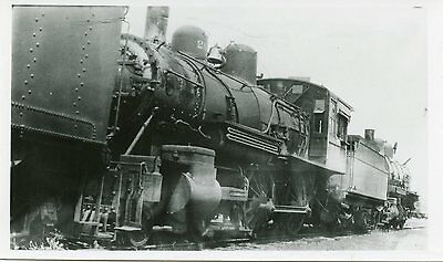 6D378 RP 1929/1960s FRISCO SLSF RAILROAD ENGINE #201 SPRINGFIELD MO