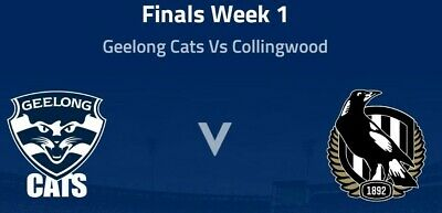 AFL Finals Record 2019 - Geelong vs Collingwood First Qualifying Final