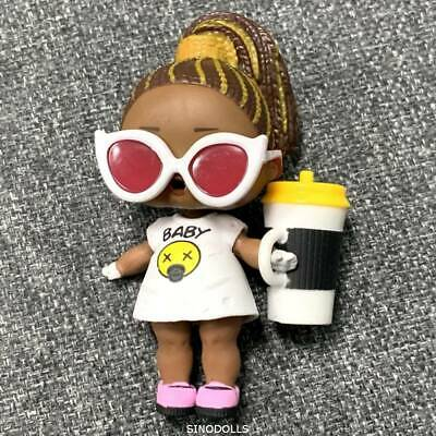 Original LOL Surprise Doll FIERCE BABY BIG Sister Underwraps CHEETAH GIRL toy