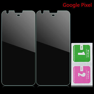 2PCS 9H Clear Premium Tempered Glass Film Screen Protector For Google Pixel