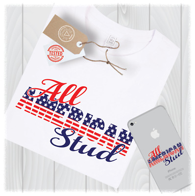 All American Stud Svg Files for Cricut Designs - Digital Download Option
