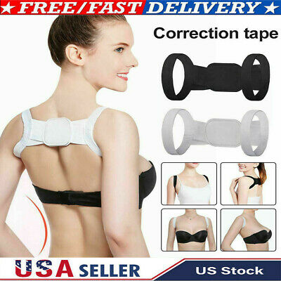 US Invisible Back Shoulder Posture Orthotics Humpback Corrector Tape Unisex
