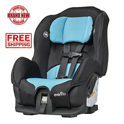Convertible Car Seat 2 in 1 Front Rear Facing Multi Point Harness Unisex Neptune