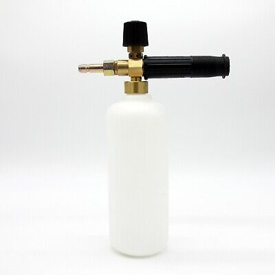 Snow Foam Lance Spray Nozzle Bottle Pressure Jet Washer 11.6mm 1/4 Quick Release