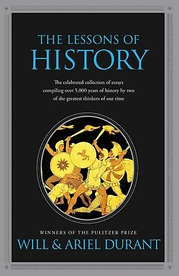 The Lessons Of History by Will Durant-MP3 audio audiobook format