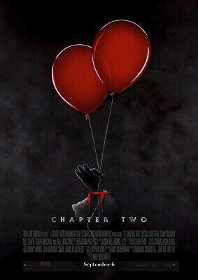 IT CHAPTER TWO 2019 Balloon - Andy Muschietti, Stephen King – Movie Film Poster
