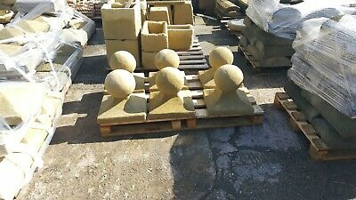 """15"""" pier cap with ball"""