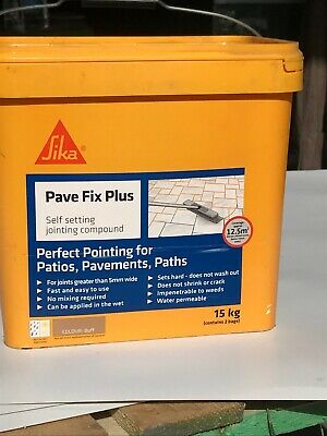 Sika Pave Fix Is Self Setting Jointing Compound 15kg Free Delivery