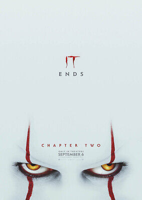 IT CHAPTER TWO 2019 Pennywise - Andy Muschietti, Stephen King – Movie Poster Art